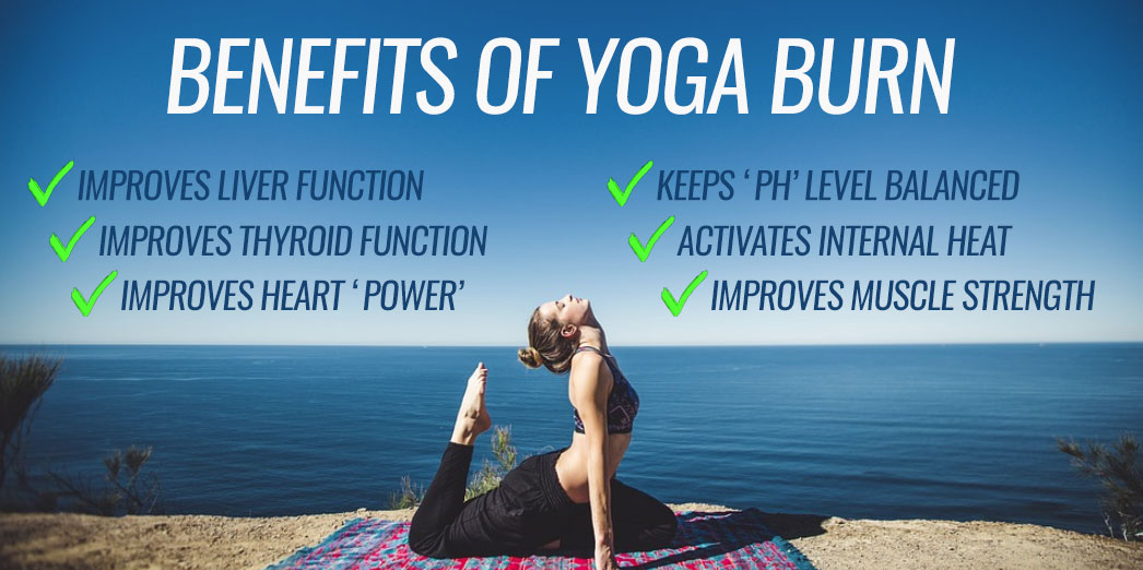 Benefits of yoga burn