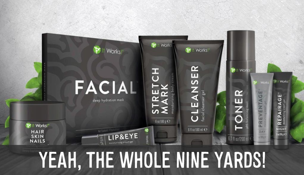 it works skin care products